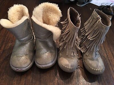 Girls Boot Lot Size 10 Ugg/Cat & Jack