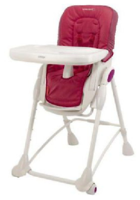 Chaise haute Baby Confort rouge