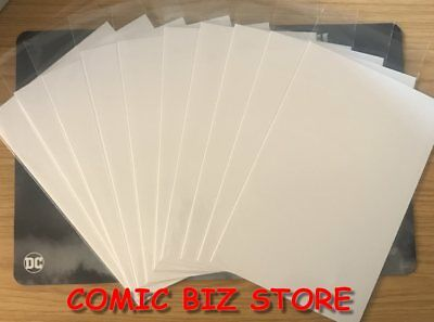 10 x CURRENT SIZE PP COMIC BAGS & 10 x CURRENT SIZE COMIC COMICARE BOARDS