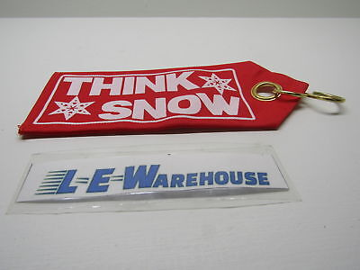Replacement Snow Plow Blade Guide Flags W/ S Hooks - Red Think Snow
