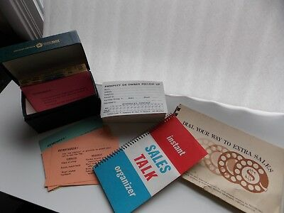 Lot of Vintage Salesman Items from the Chrysler Corporation Institute