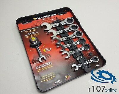 "Genuine Gearwrench Stubby Imperial AF Ratchet Spanners. 3/8""-3/4"""