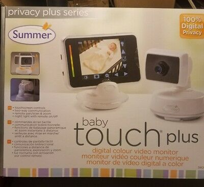 NEW!! Summer Infant Baby Touch Plus MONITOR 1 Cameras # 28620!!