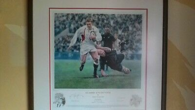 JONNY WILKINSON 'Classic Encounter'... Signed... 'Ltd addition' Print.