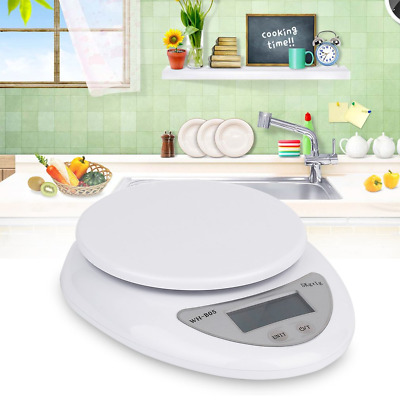 Scale Digital Food Weight Kitchen Diet Electronic Postal 5kg 1g Balance LCD 5 Kg
