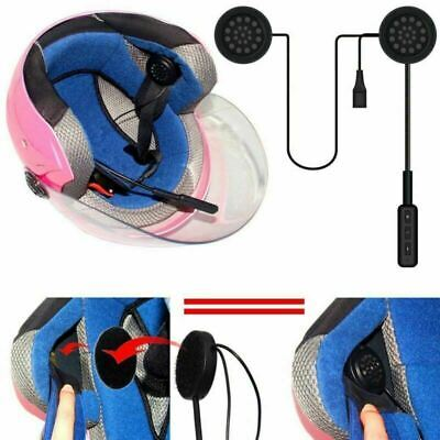 Bluetooth 4.0 Motorbike Helmet Headset Motorcycle Interphone Intercom FM Speaker