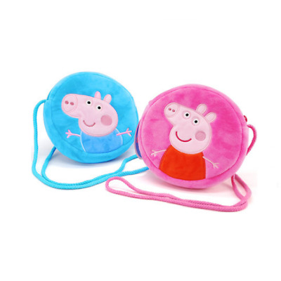 Peppa Pig Family Daddy Mommy Coin Purse Wallet Bag Kids Boy Girl Birthday Gift