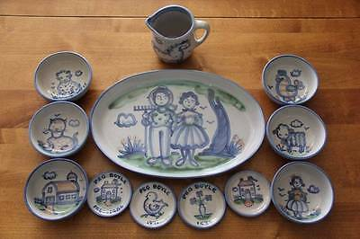 M A Hadley~Country Pottery Collection~HUGE LOT~$400 *SOME RARE PIECES*