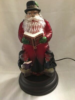 Old World Christmas 2016 Lighted Santa