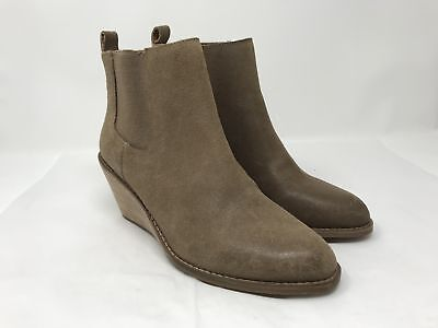 f71b065d484b9 LUCKY BRAND WOMENS Pallet Ankle Closed Toe Dressy Wedge Boots Heels ...