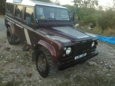 Land Rover defender110 county swtdi 1994