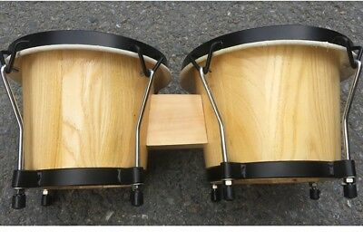 D02 New Percussion 6 and 7 inch High Quality Musical Instruments Bongo Drums O