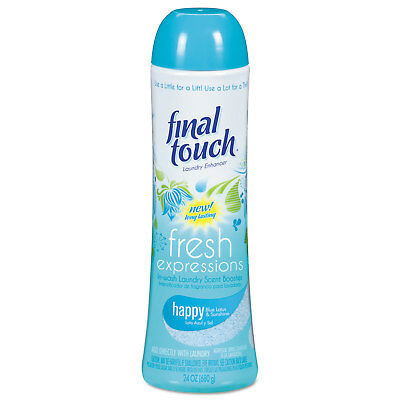 Final Touch Fresh Expressions In-Wash Laundry Scent Booster 24 oz Powder Blue