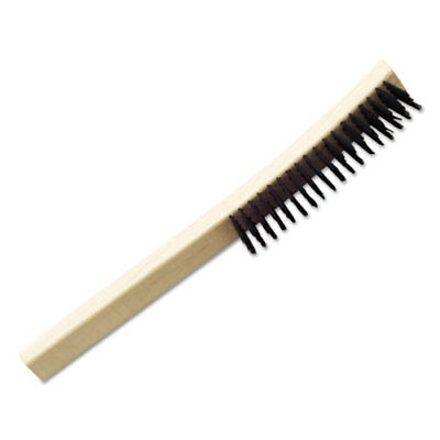 "AbilityOne Wire Deburring Brush 13.75"" Brush 1 1/8""bristles Steel/wood 2915815"