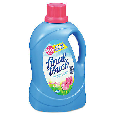 Final Touch Ultra Liquid Fabric Softener 120oz Bottle 58420EA
