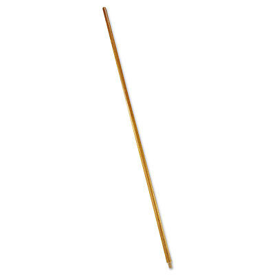 "Rubbermaid Commercial Wood Threaded-Tip Broom/Sweep Handle 60"" Natural 6361"