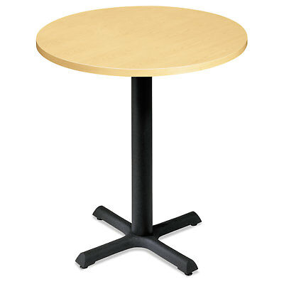 "HON Self-Edge Round Hospitality Table Top 30"" Diameter Natural Maple CTRND30NDD"