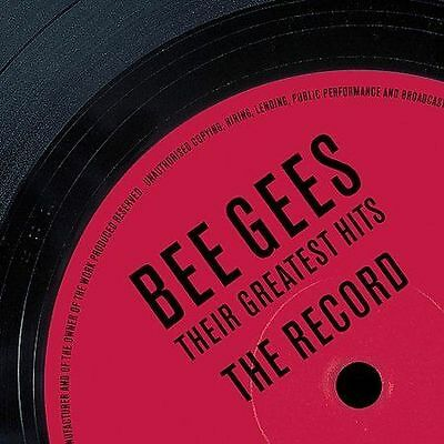 The Bee Gees - Their Greatest Hits: The Record CD
