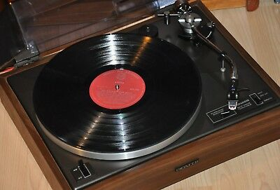 PIONEER PL-12D MKII - SERVICED Beautiful, Classic Turntable + Cartridge. Photos.