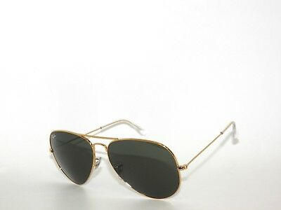 2f36a5546eeb81 BEST DEAL*RAY BAN SunglaSSeS 3025 Rayban 001 GOLD GREEN GRAY AVIATOR 62