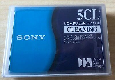 Sony 5CL Cleaning Cartridge Reinigungskassette DG5CL 5m NEU