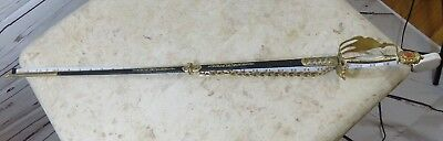 "33"" UNIQUE VINTAGE Sendon Spain Very Decorative FENCING SWORD w/ sheath"