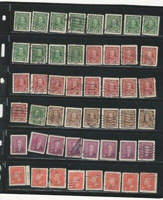 Canada - Selection Of Used Stamps #19