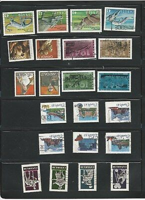 Canada - 6 Used Canadian Sets Of Stamps