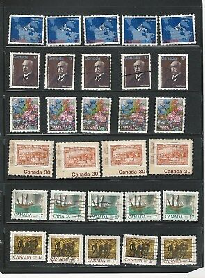 Canada - Selection Of Used Canada Stamps #2
