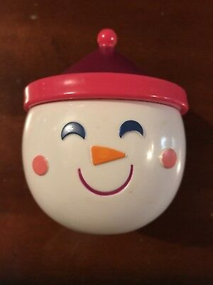 Happy Snowman Container | FREE SHIPPING