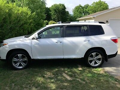 2012 Toyota Highlander Limited 2012 Toyota Highlander Limited 3.5L