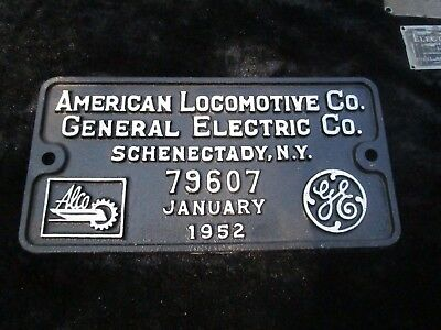 American Locomotive Co General Electric Co. Schenectady NY January 1952 Railroad