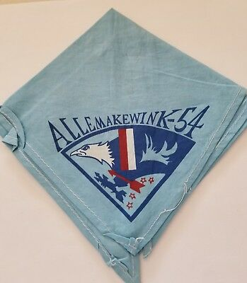 Allemakewink 54 neckerchief  Boy Scout