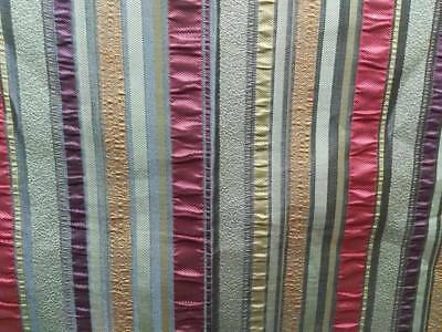best quality upholstery fabric for cushion and sofa and Curtain stripe jacquard