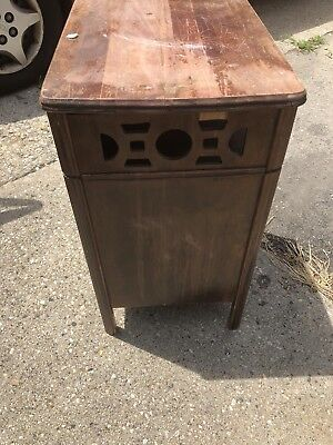 antique record cabinet
