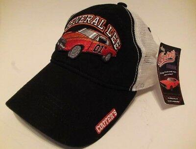 Snapback Trucker Hat GENERAL LEE WHT Confederate Dukes of Hazzard Dodge Charger