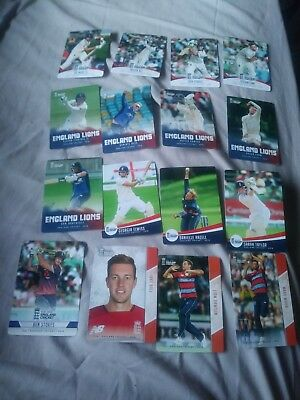 16 England Tap And Play Cricket Cards