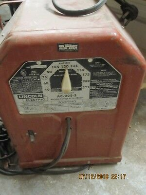 Lincoln AC 225-2 Variable Voltage ARC Welder