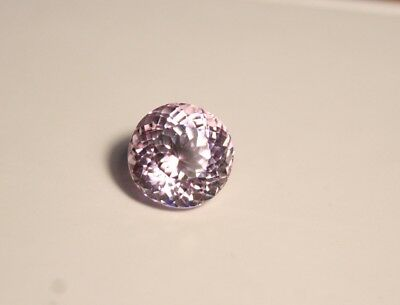 5.4ct Pink Kunzite - Baby Pink Flawless - Scintillating Round - Afghanistan