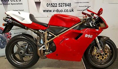 2000 Ducati 996 SPS * Plaque No.: 484 *