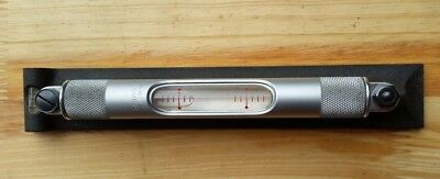 """Starrett 98-8 Machinists' Level with Ground and Graduated Vial 8"""" Length"""
