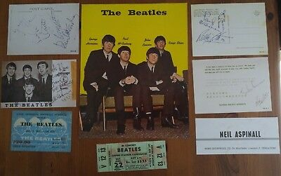 The Beatles-  Collection of Memorabilia.