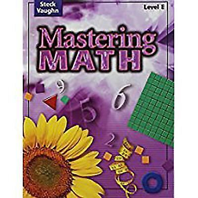 Mastering Math: Student Edition, Level E Grade 5