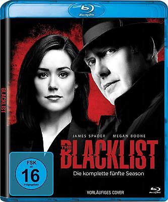 The Blacklist 5 Die Komplette Staffel Season 5 Blu-Ray Deutsch