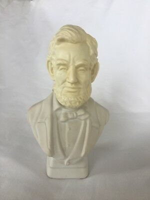 AVON collectible bottle Decanter 1973 Wild Country After Shave Abe Lincoln VTG