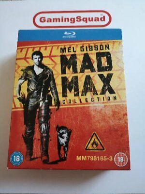 Mad Max Collection Blu Ray Supplied by Gaming Squad