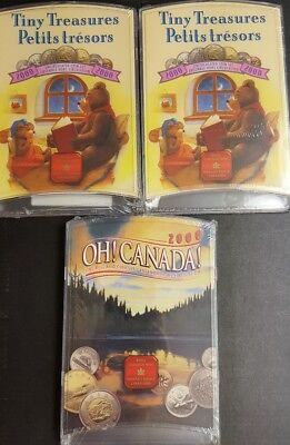 TWO 2000 CANADA TINY TREASURES. SCARCE  Low Mintage!! MINT SEALED! 1 OH CANADA!