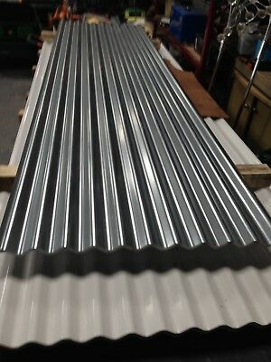 Brand New 10ft Galvanised Corrugated Roofing Sheets