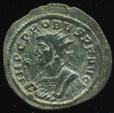 Roman Empire - PROBUS (276-282) Billon antoninianus, 3,48 g. FINE / VERY FINE