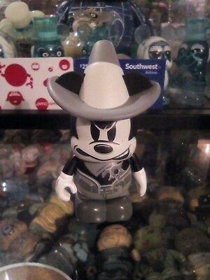Rare Wild Wild West Angry Sheriff Mickey Variant Vinylmation